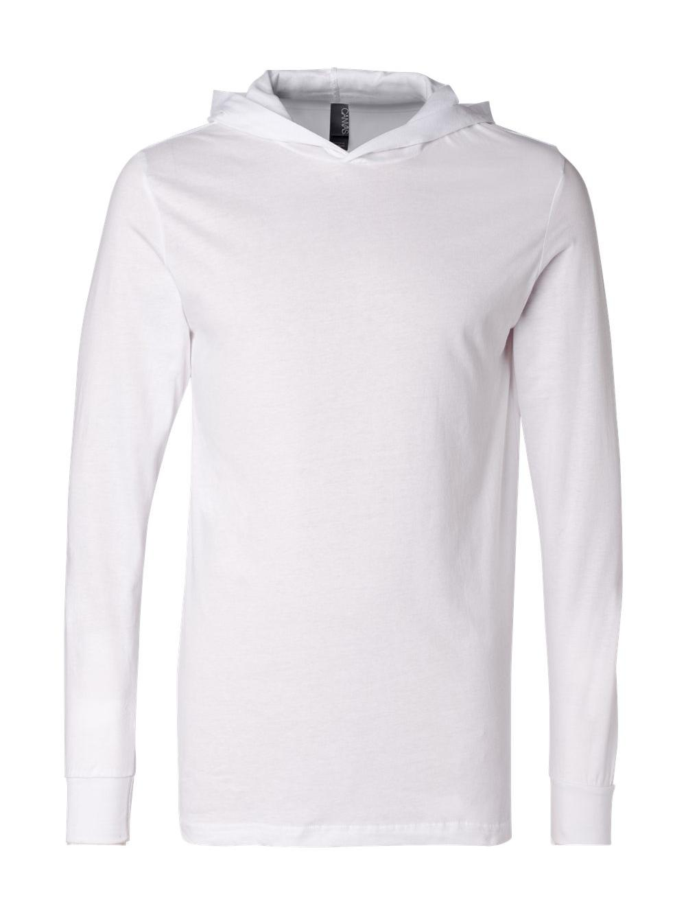 Bella-Canvas-Unisex-Long-Sleeve-Jersey-Hooded-Tee-3512 thumbnail 30