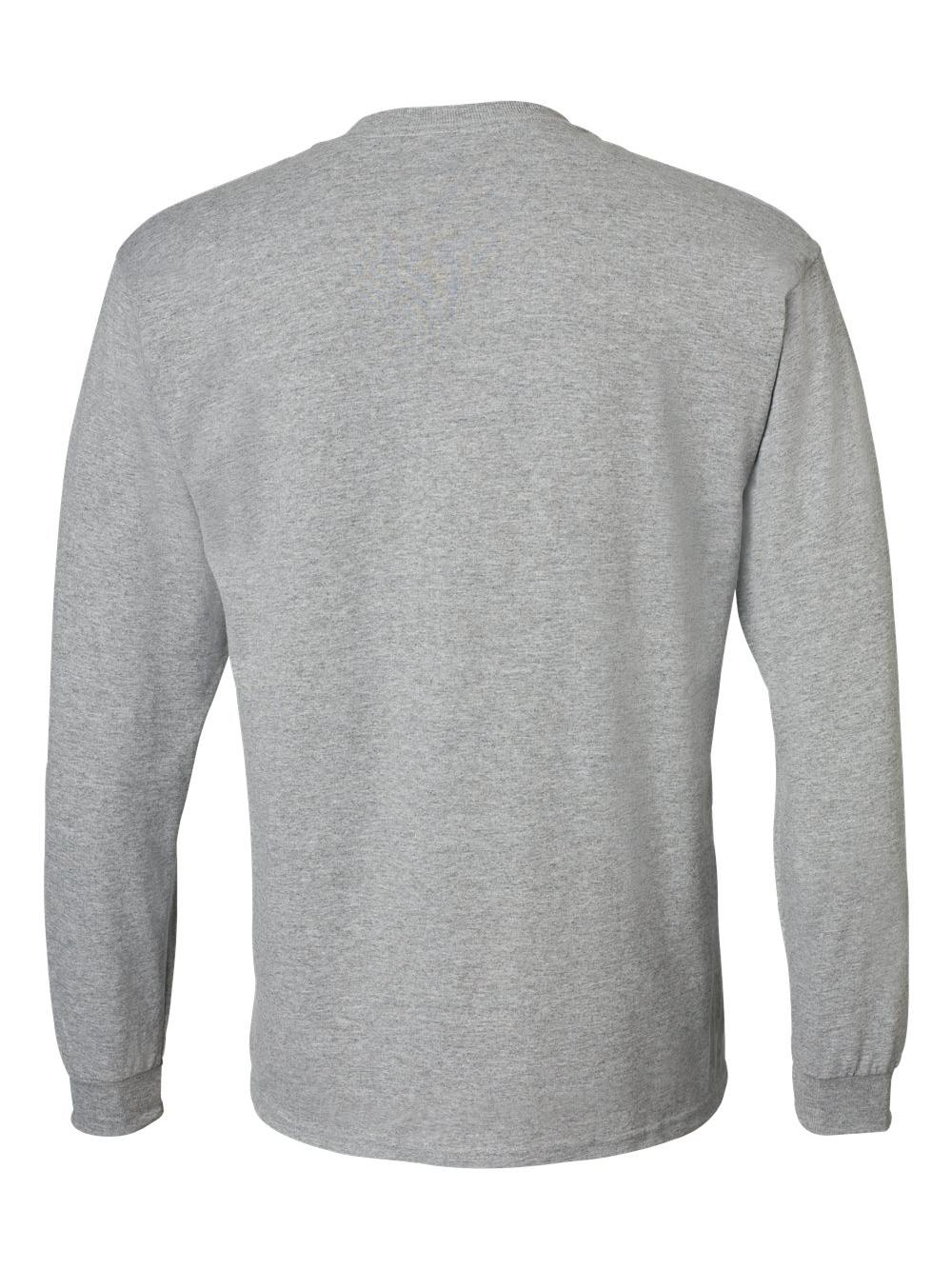 Gildan-DryBlend-50-50-Long-Sleeve-T-Shirt-8400 thumbnail 44