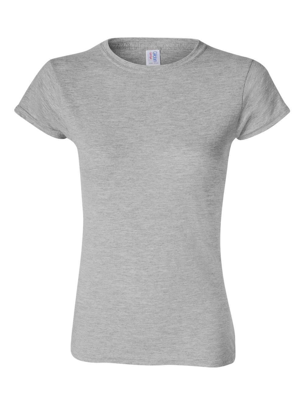 Gildan-Softstyle-Women-039-s-T-Shirt-64000L thumbnail 42
