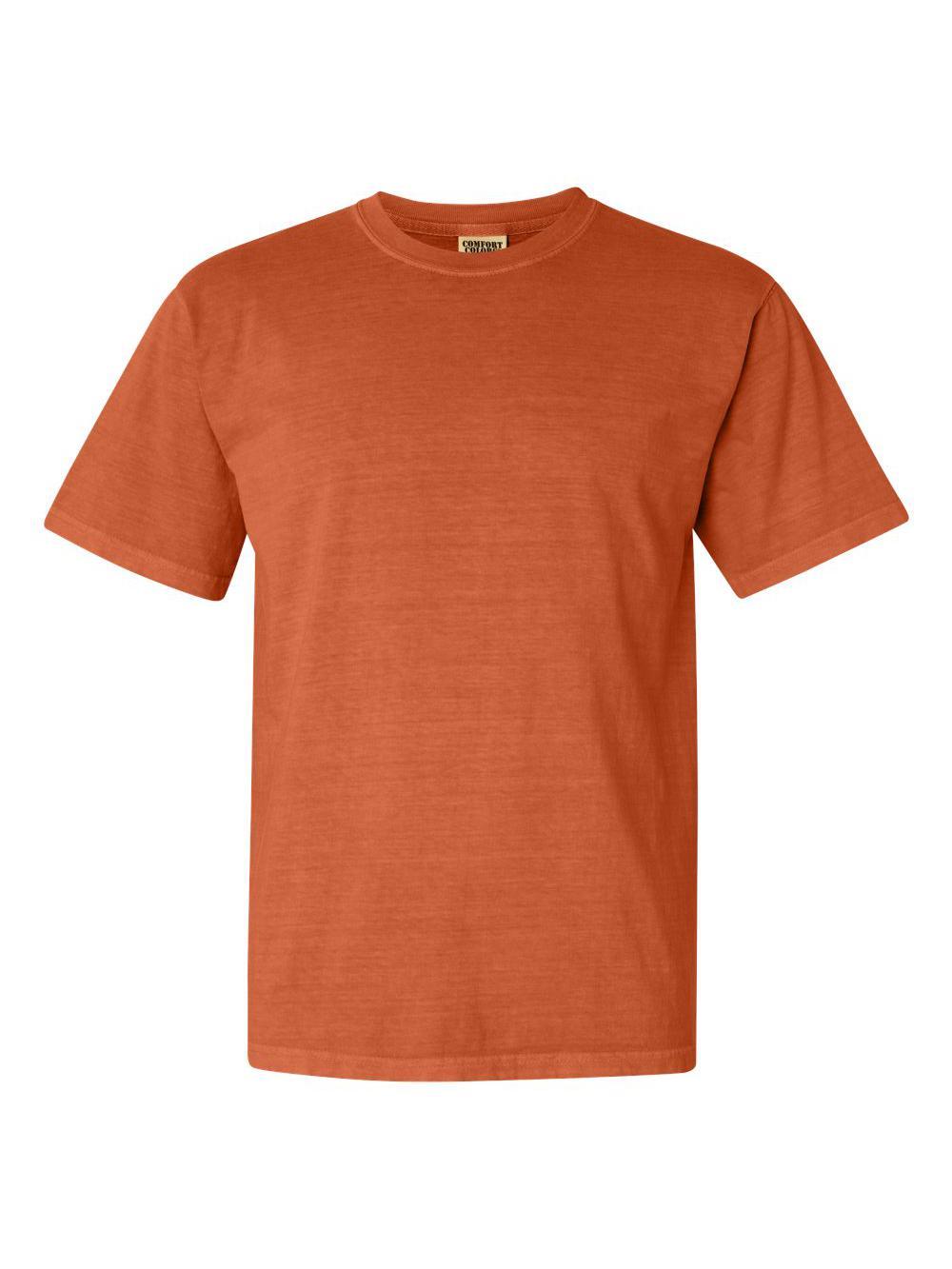 Comfort-Colors-Garment-Dyed-Heavyweight-Ringspun-Short-Sleeve-Shirt-1717 thumbnail 24