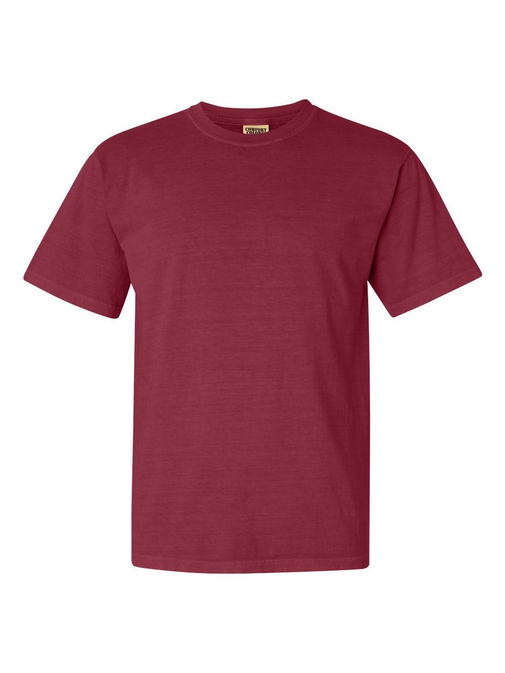 Comfort-Colors-Garment-Dyed-Heavyweight-Ringspun-Short-Sleeve-Shirt-1717 thumbnail 36