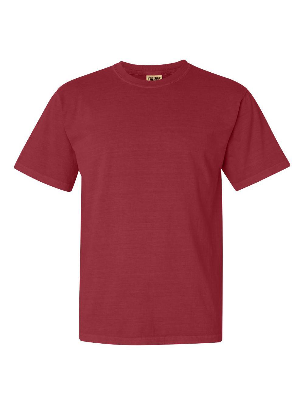 Comfort-Colors-Garment-Dyed-Heavyweight-Ringspun-Short-Sleeve-Shirt-1717 thumbnail 42