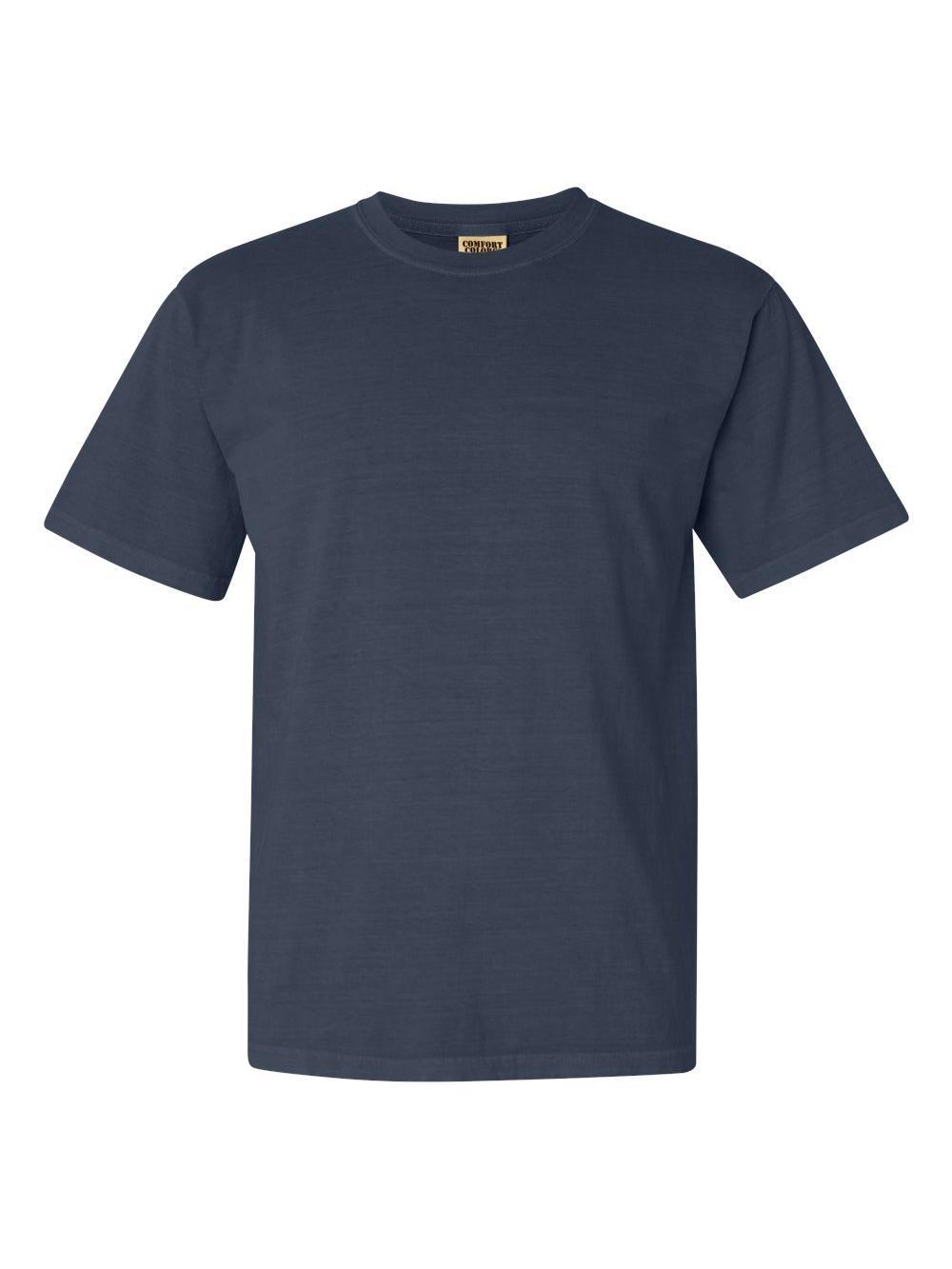 Comfort-Colors-Garment-Dyed-Heavyweight-Ringspun-Short-Sleeve-Shirt-1717 thumbnail 48
