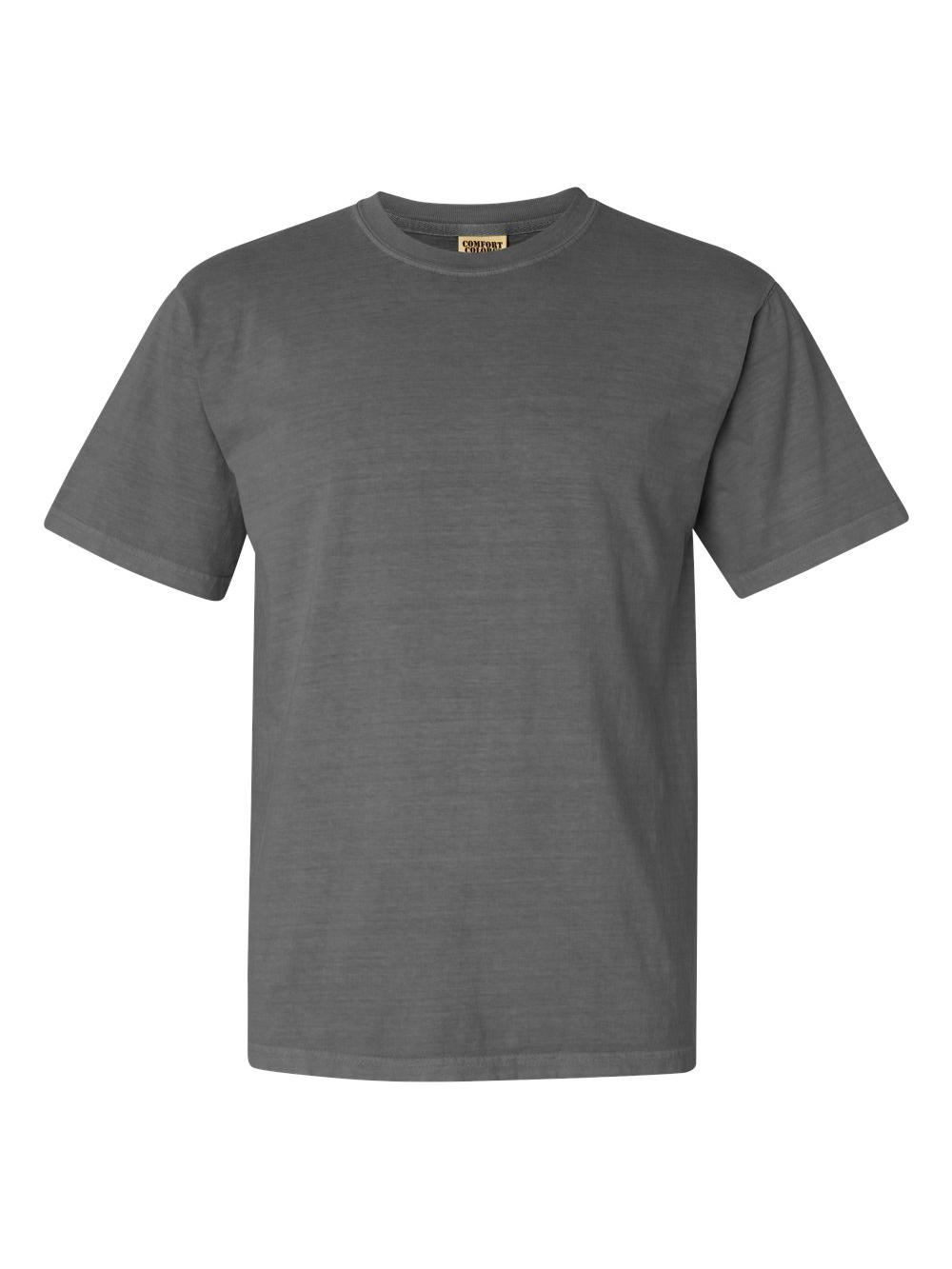 Comfort-Colors-Garment-Dyed-Heavyweight-Ringspun-Short-Sleeve-Shirt-1717 thumbnail 60