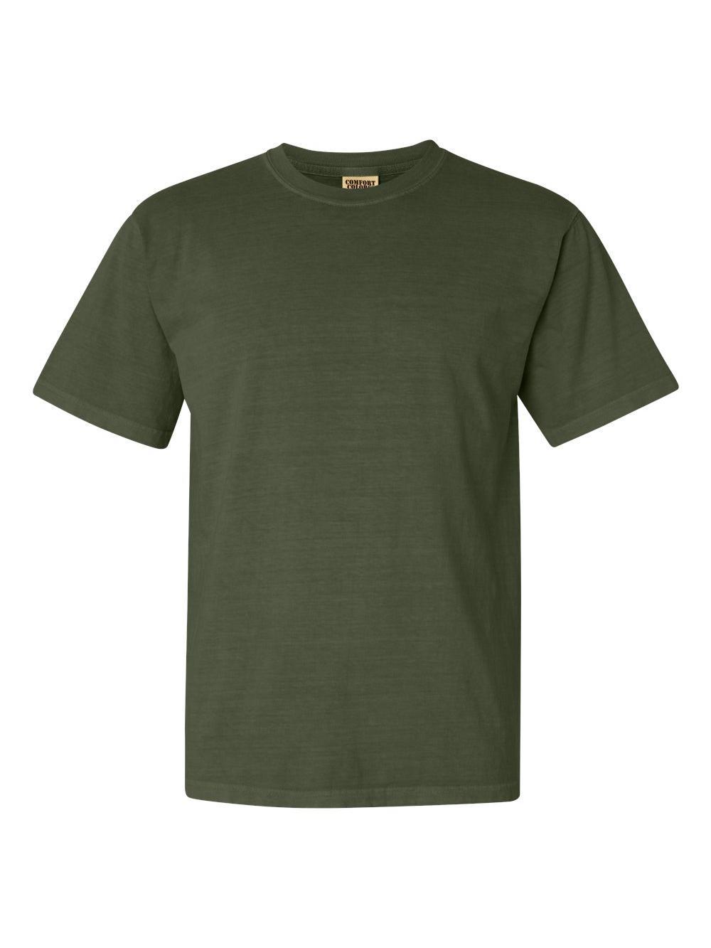 Comfort-Colors-Garment-Dyed-Heavyweight-Ringspun-Short-Sleeve-Shirt-1717 thumbnail 63