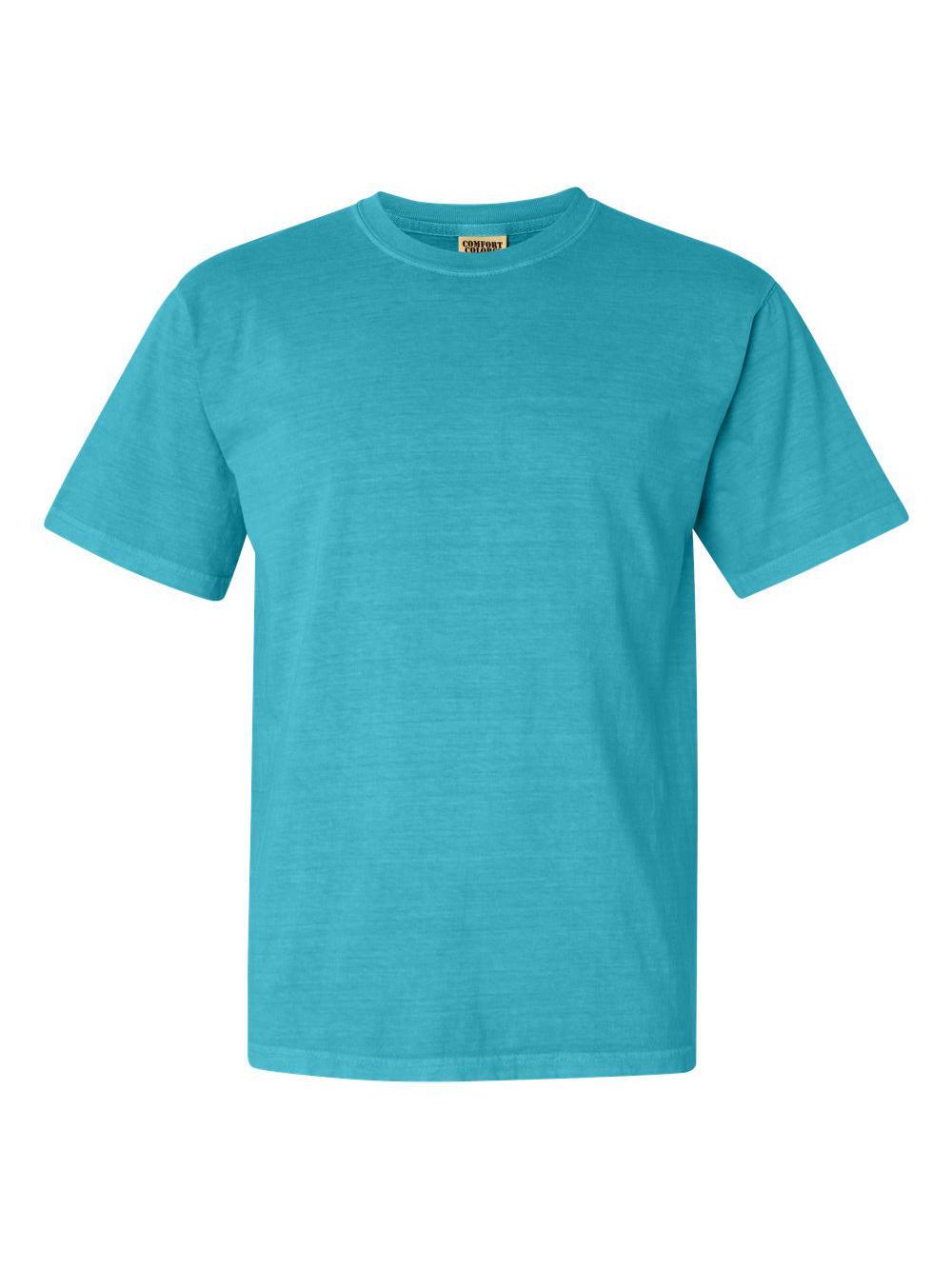 Comfort-Colors-Garment-Dyed-Heavyweight-Ringspun-Short-Sleeve-Shirt-1717 thumbnail 78