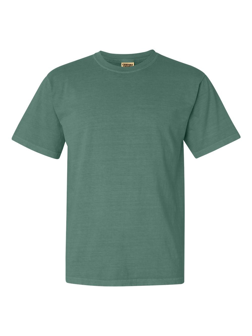 Comfort-Colors-Garment-Dyed-Heavyweight-Ringspun-Short-Sleeve-Shirt-1717 thumbnail 81