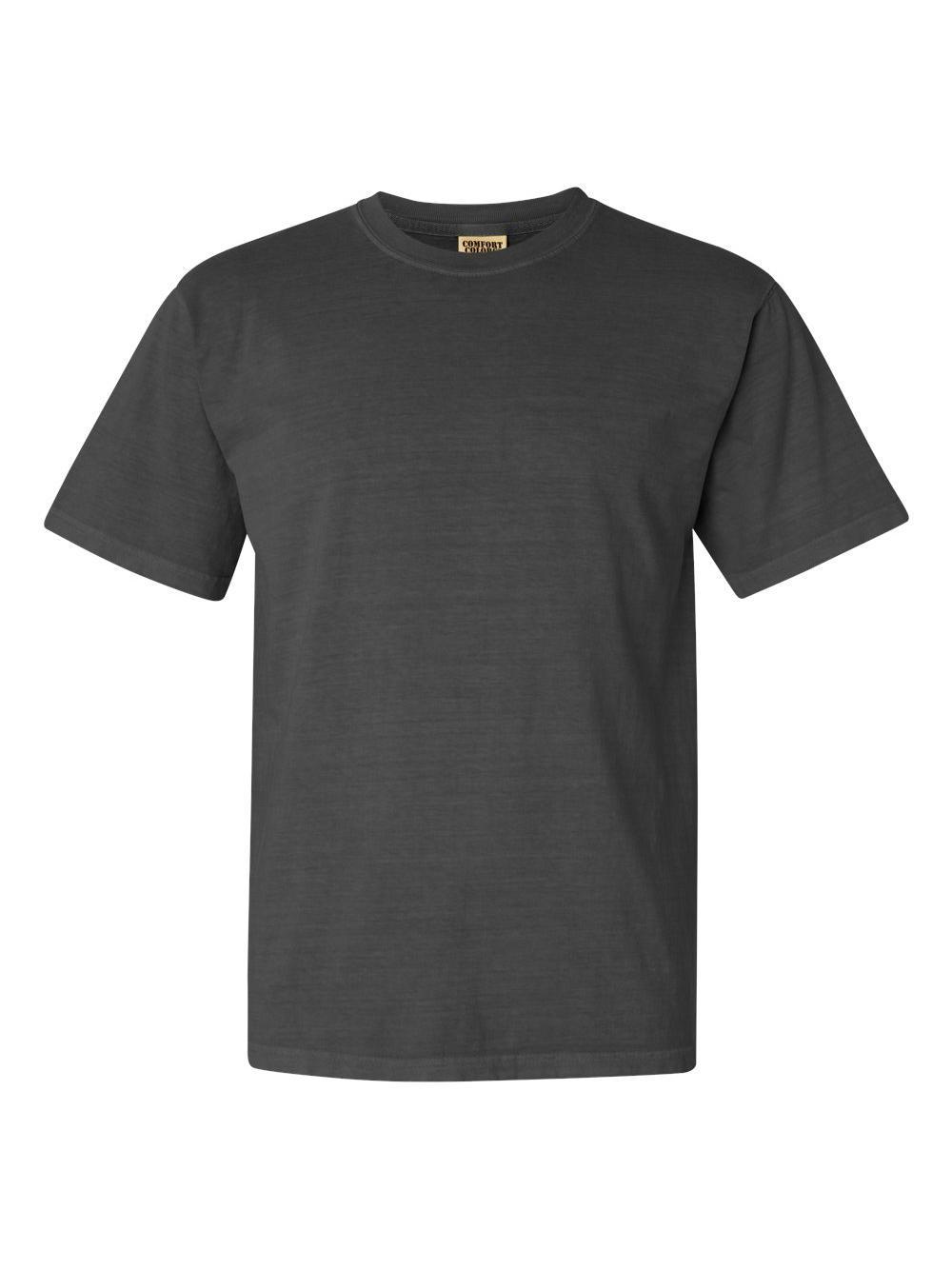 Comfort-Colors-Garment-Dyed-Heavyweight-Ringspun-Short-Sleeve-Shirt-1717 thumbnail 102