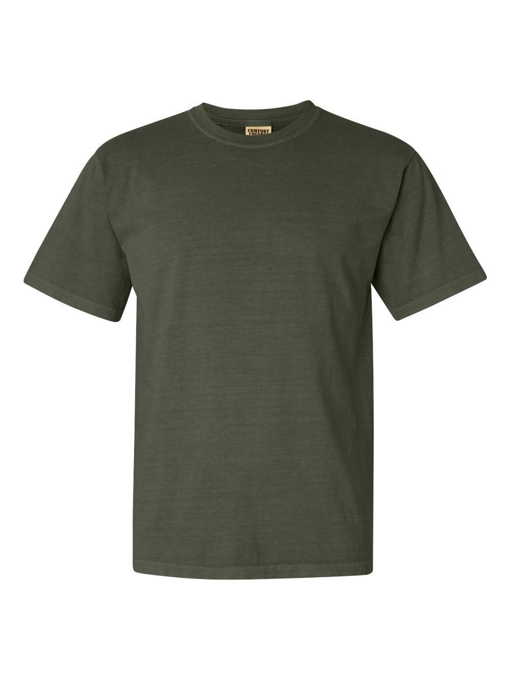 Comfort-Colors-Garment-Dyed-Heavyweight-Ringspun-Short-Sleeve-Shirt-1717 thumbnail 111