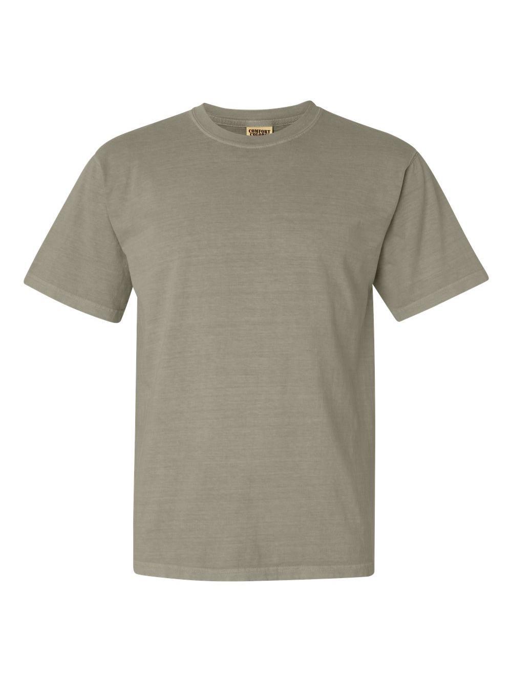 Comfort-Colors-Garment-Dyed-Heavyweight-Ringspun-Short-Sleeve-Shirt-1717 thumbnail 114