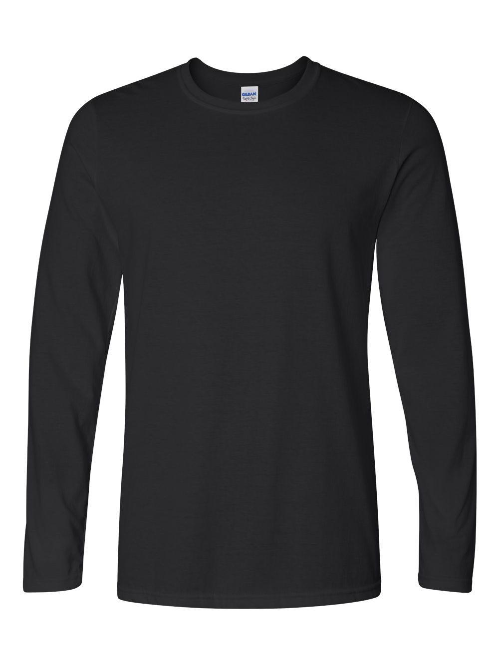 Gildan-Softstyle-Long-Sleeve-T-Shirt-64400 thumbnail 3