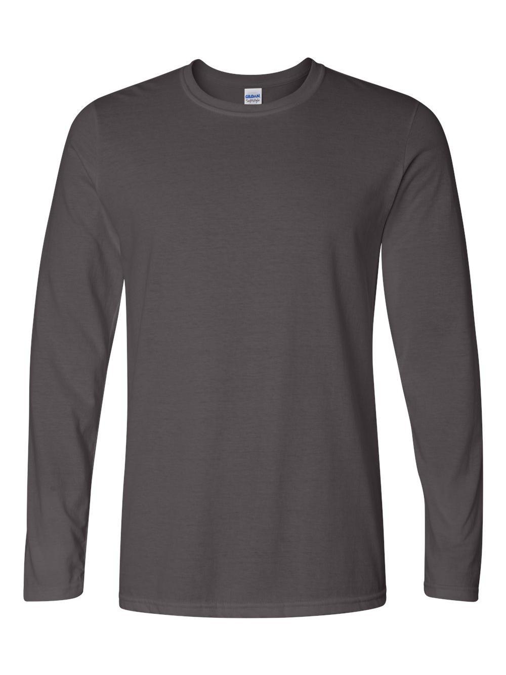 Gildan-Softstyle-Long-Sleeve-T-Shirt-64400 thumbnail 6