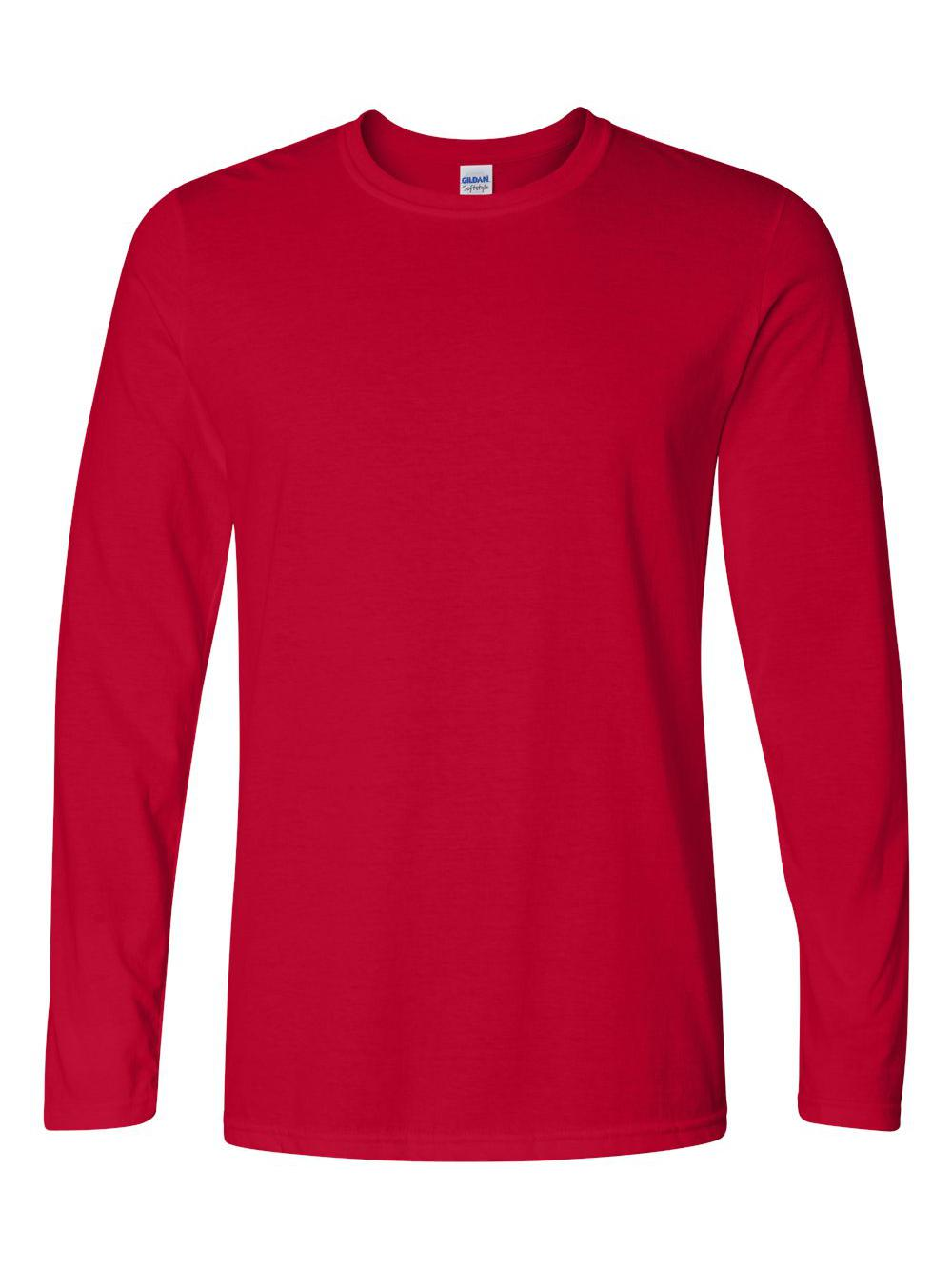 Gildan-Softstyle-Long-Sleeve-T-Shirt-64400 thumbnail 9
