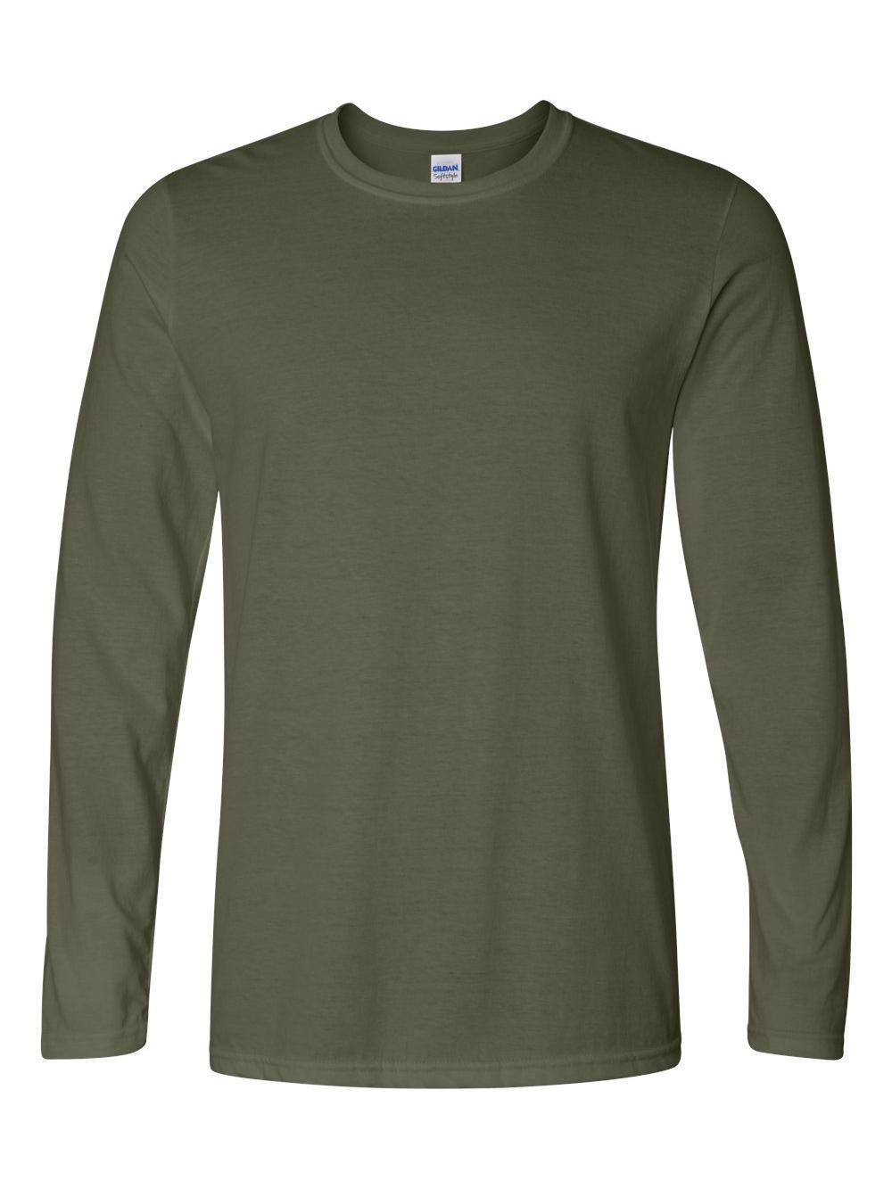 Gildan-Softstyle-Long-Sleeve-T-Shirt-64400 thumbnail 12