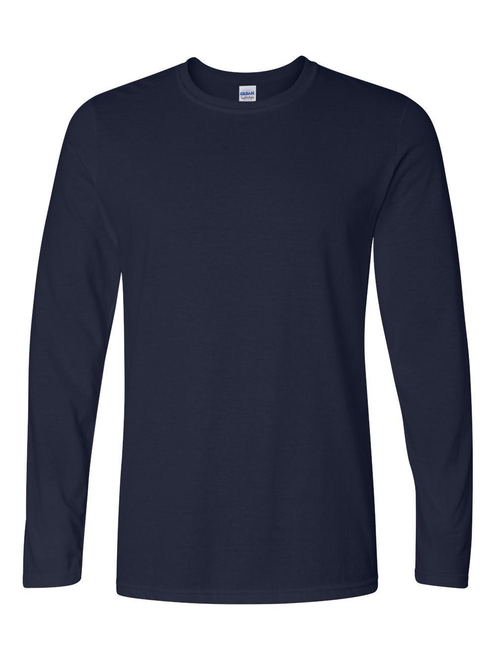Gildan-Softstyle-Long-Sleeve-T-Shirt-64400 thumbnail 15
