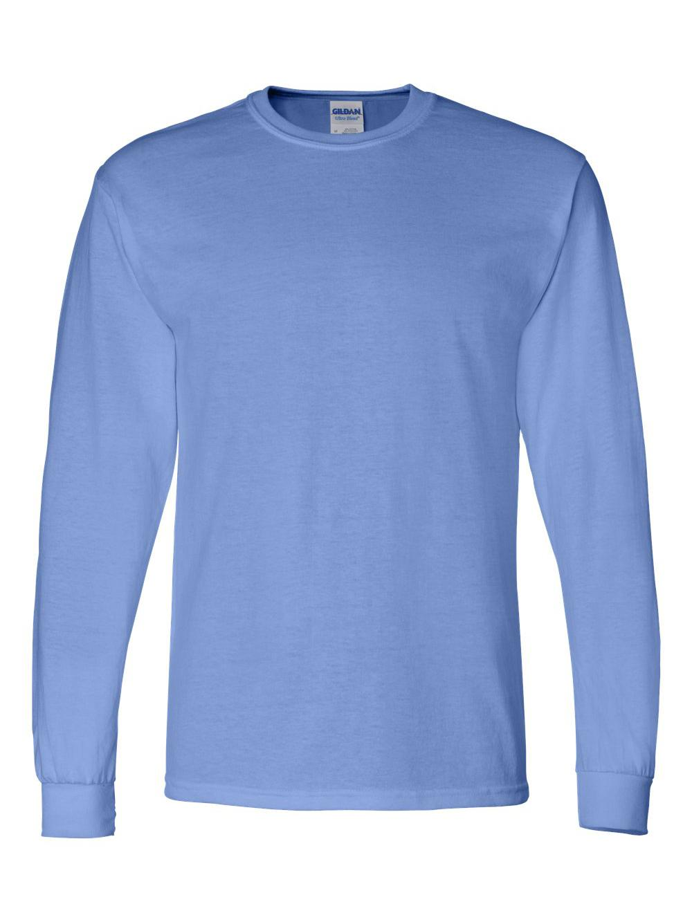Gildan-DryBlend-50-50-Long-Sleeve-T-Shirt-8400 thumbnail 9