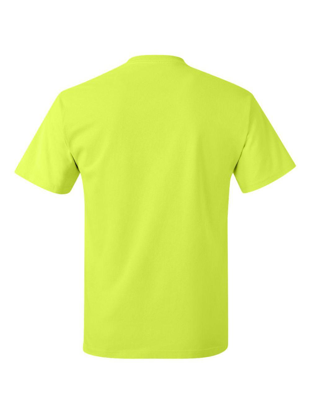 Hanes-Tagless-T-Shirt-5250 thumbnail 100