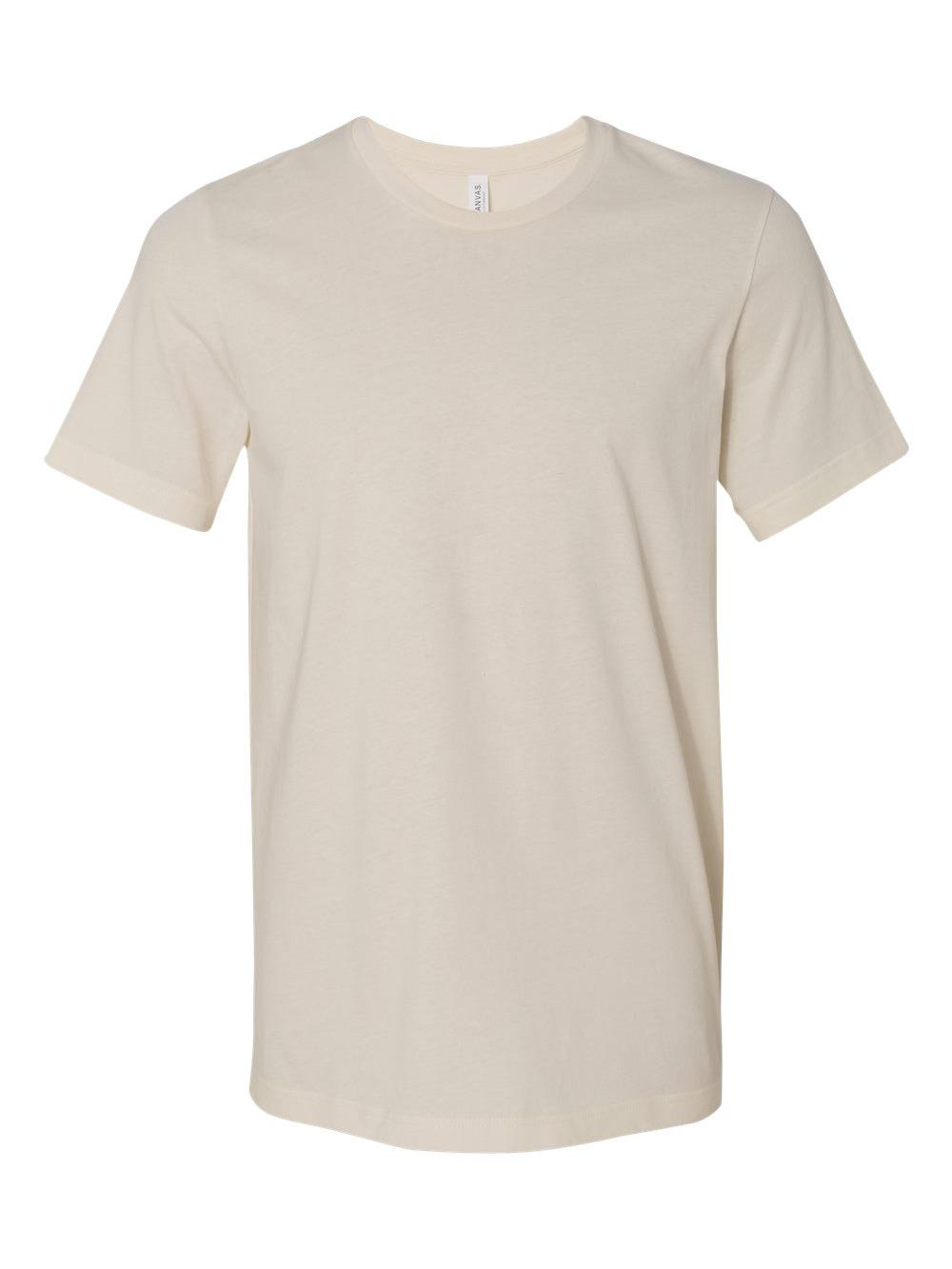 Bella-Canvas-Unisex-Short-Sleeve-Jersey-Tee-3001 thumbnail 117