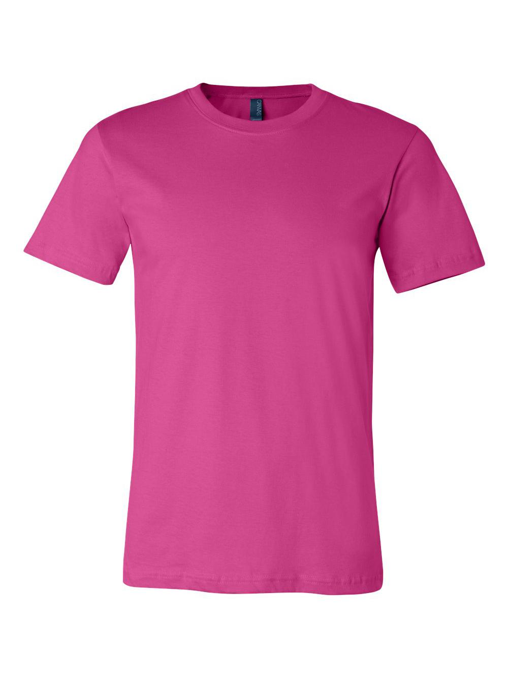 Bella-Canvas-Unisex-Short-Sleeve-Jersey-Tee-3001 thumbnail 18