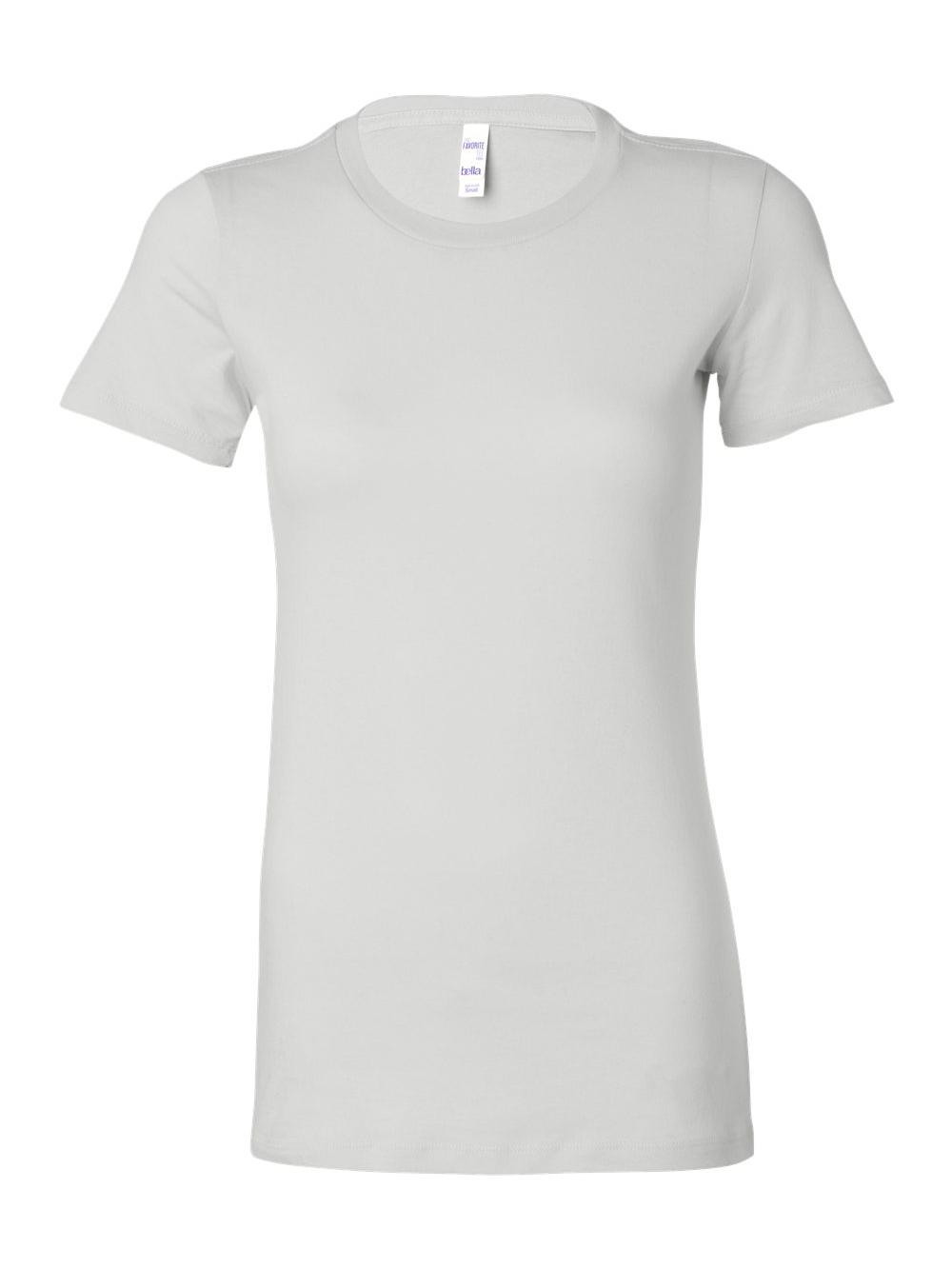 Bella-Canvas-Women-039-s-The-Favorite-Tee-6004 thumbnail 126