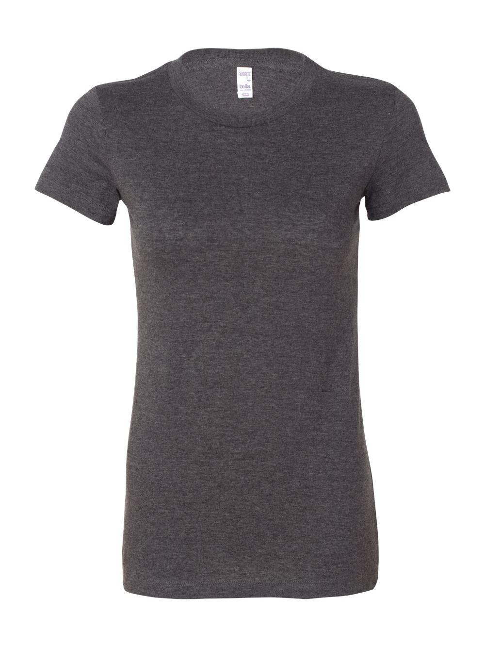 Bella-Canvas-Women-039-s-The-Favorite-Tee-6004 thumbnail 33