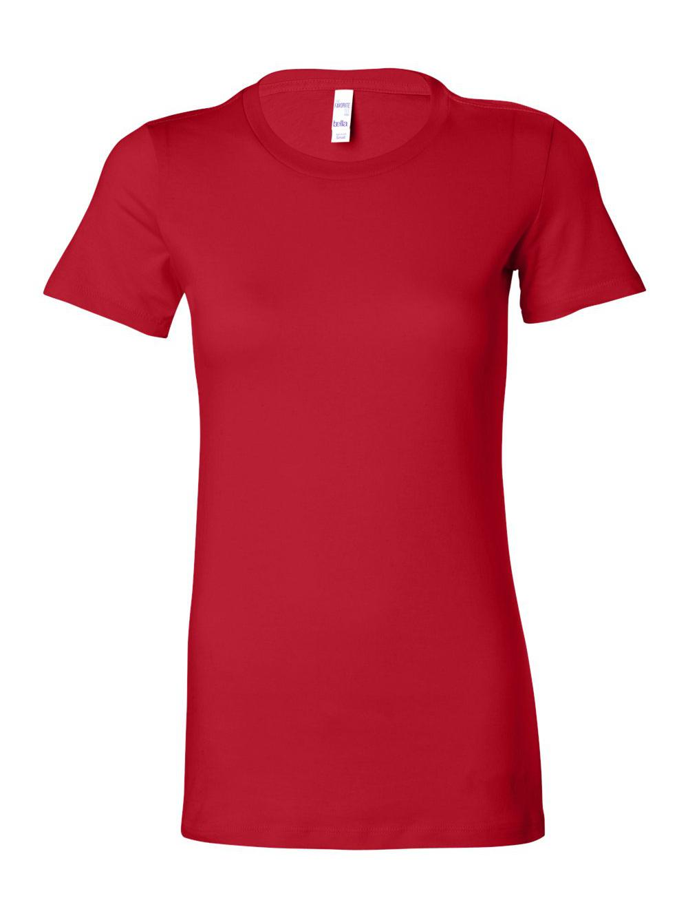 Bella-Canvas-Women-039-s-The-Favorite-Tee-6004 thumbnail 99