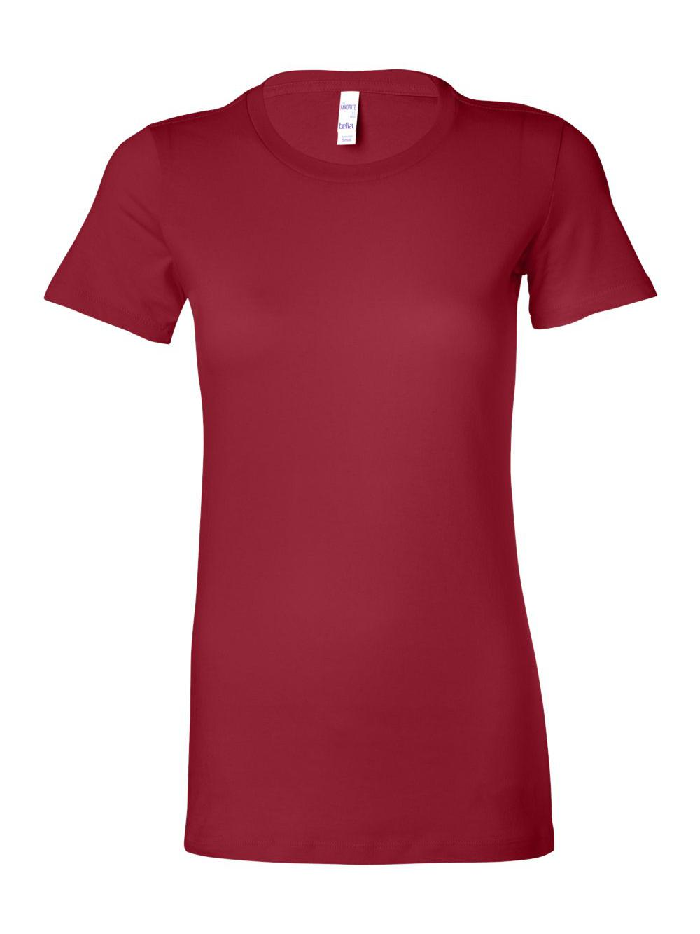 Bella-Canvas-Women-039-s-The-Favorite-Tee-6004 thumbnail 24