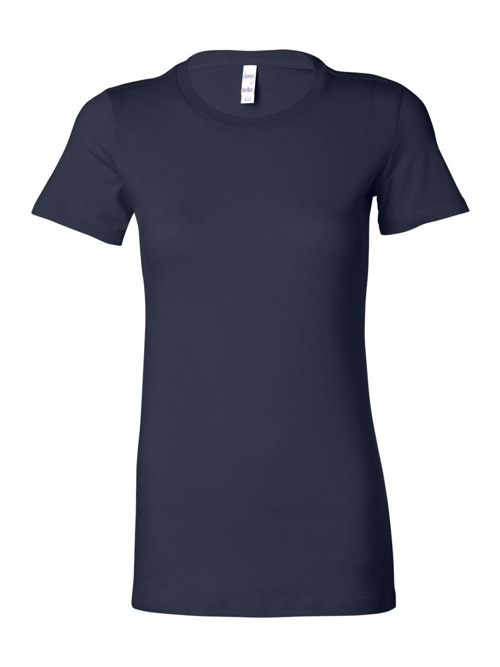 Bella-Canvas-Women-039-s-The-Favorite-Tee-6004 thumbnail 90