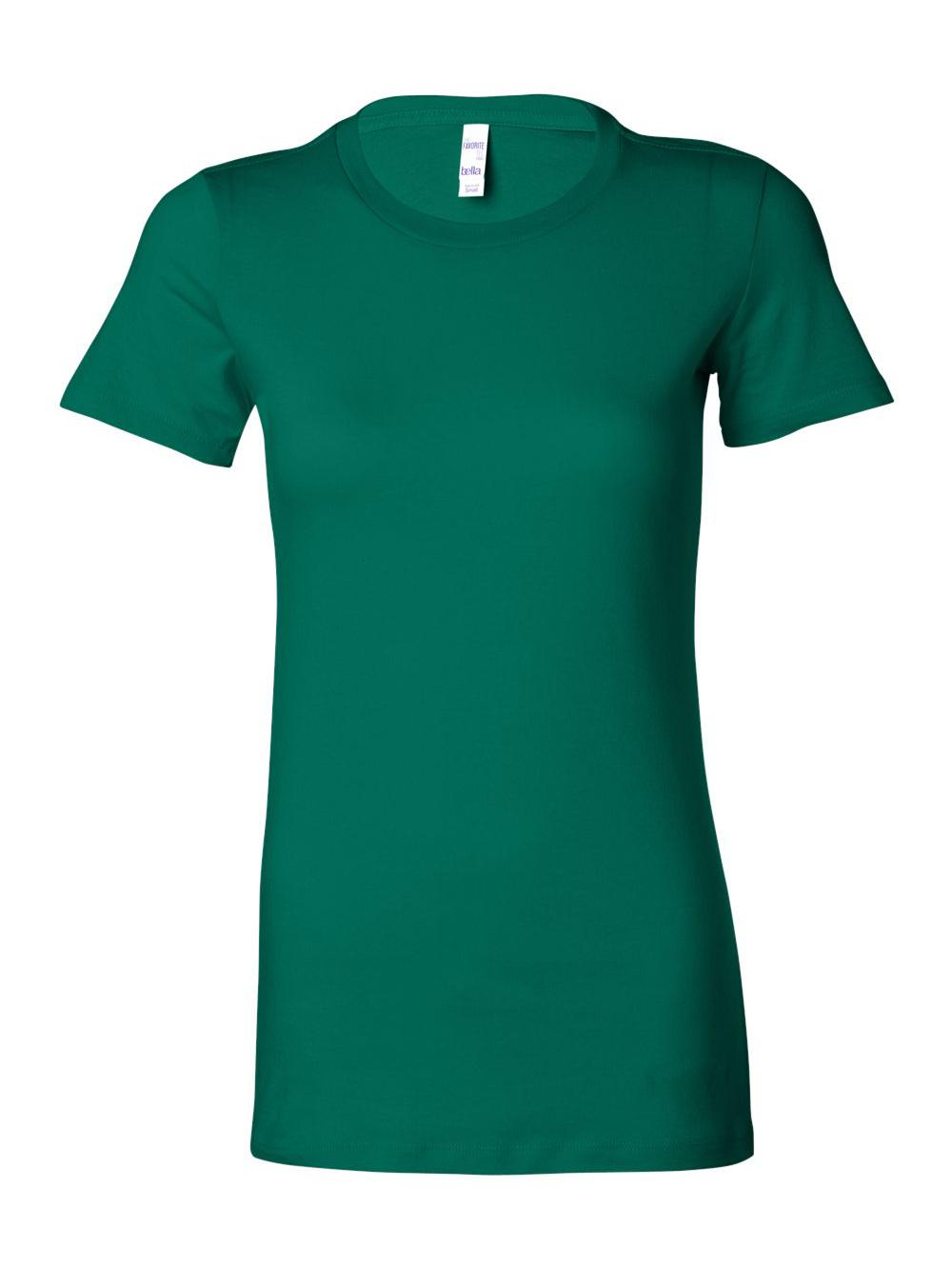 Bella-Canvas-Women-039-s-The-Favorite-Tee-6004 thumbnail 78