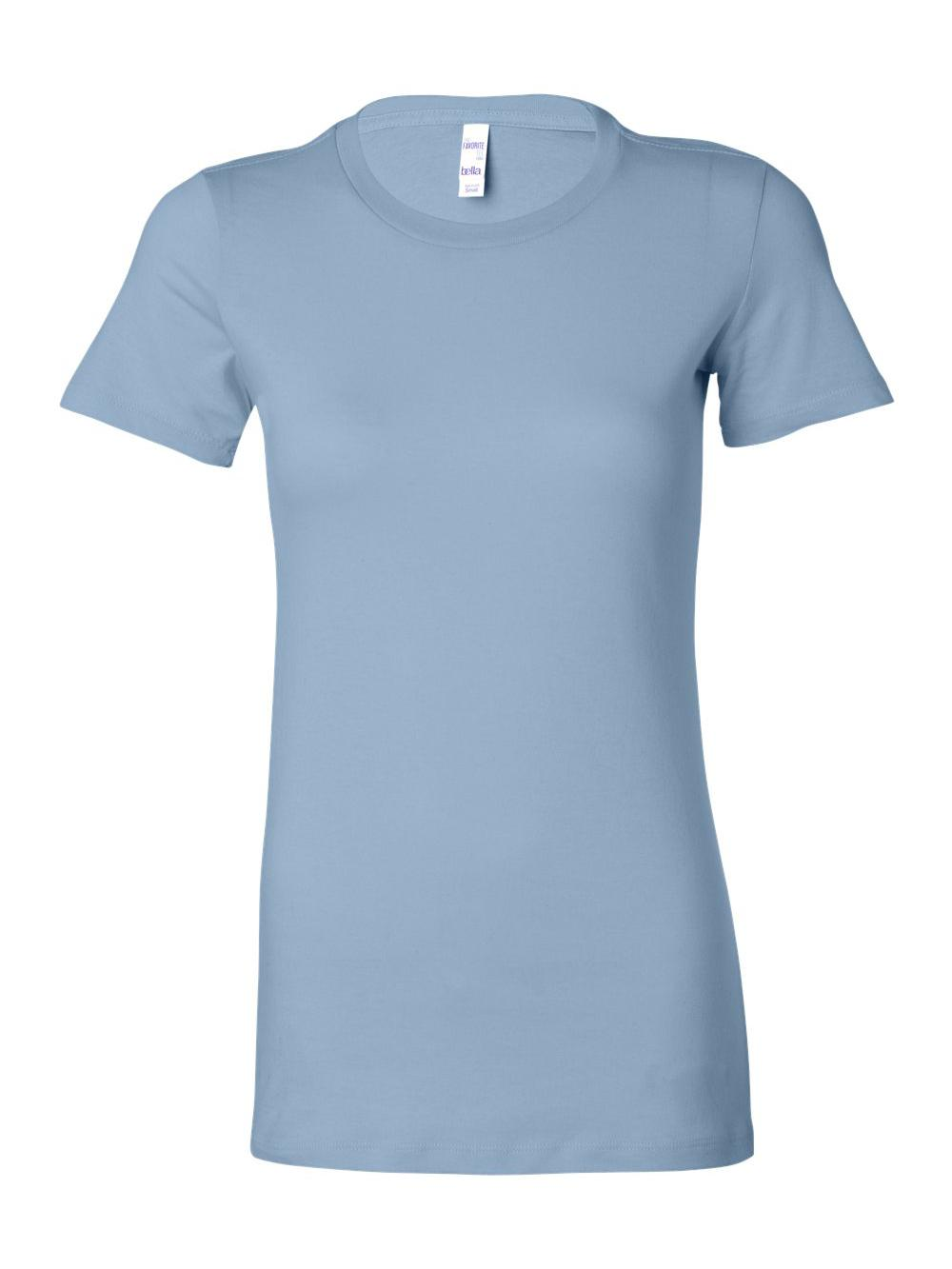 Bella-Canvas-Women-039-s-The-Favorite-Tee-6004 thumbnail 12