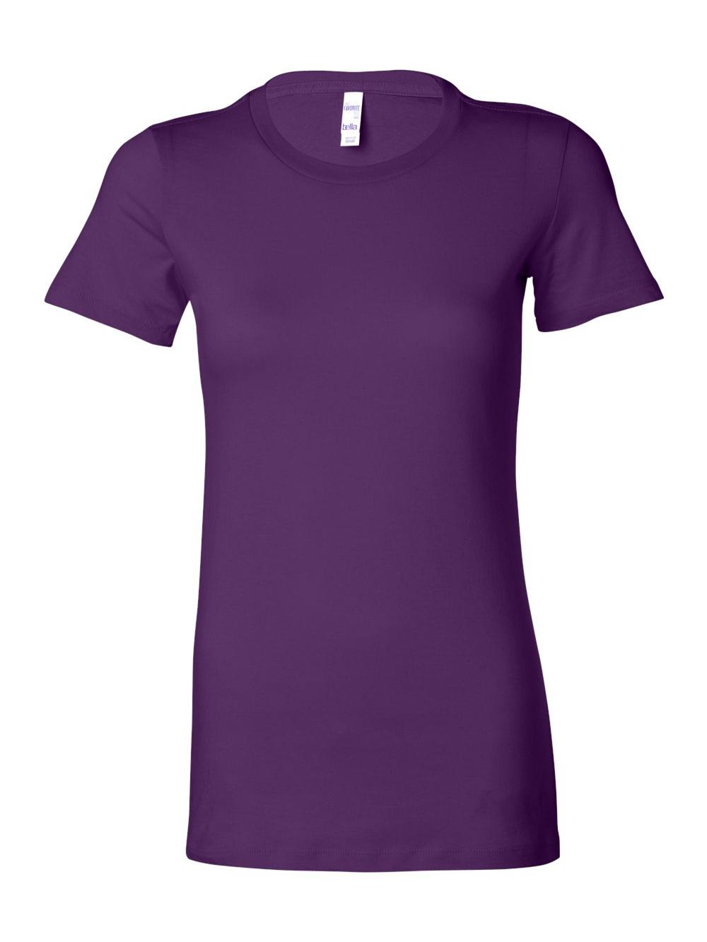 Bella-Canvas-Women-039-s-The-Favorite-Tee-6004 thumbnail 120