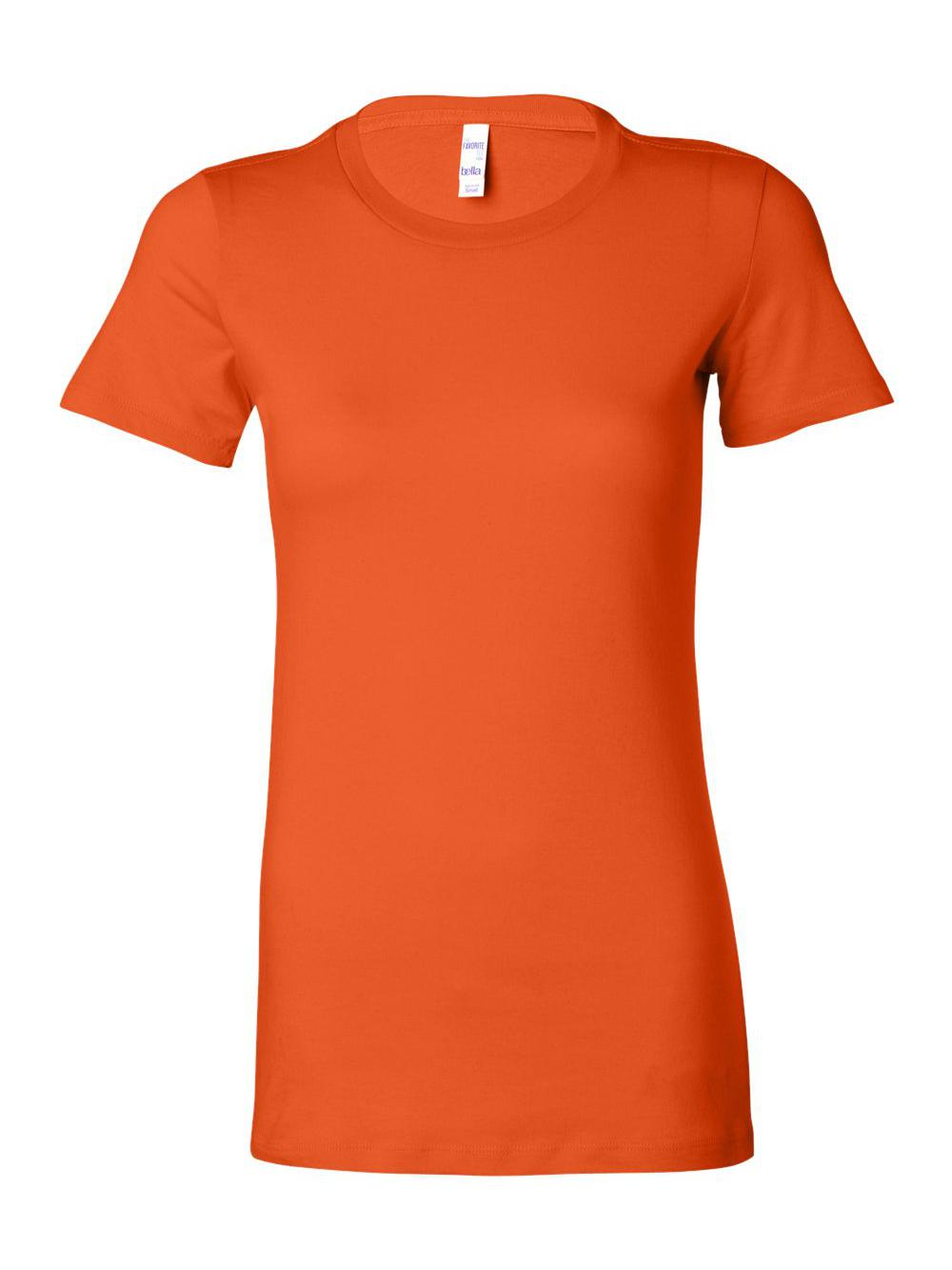 Bella-Canvas-Women-039-s-The-Favorite-Tee-6004 thumbnail 96