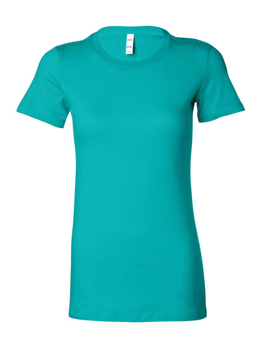 Bella-Canvas-Women-039-s-The-Favorite-Tee-6004 thumbnail 117