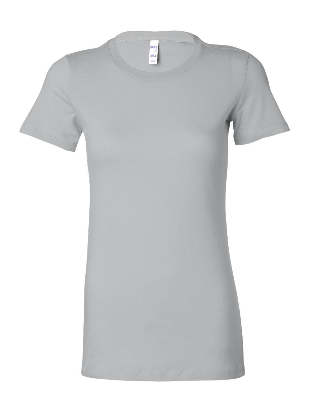 Bella-Canvas-Women-039-s-The-Favorite-Tee-6004 thumbnail 102