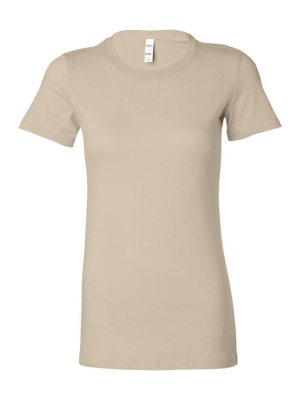 Bella-Canvas-Women-039-s-The-Favorite-Tee-6004 thumbnail 105