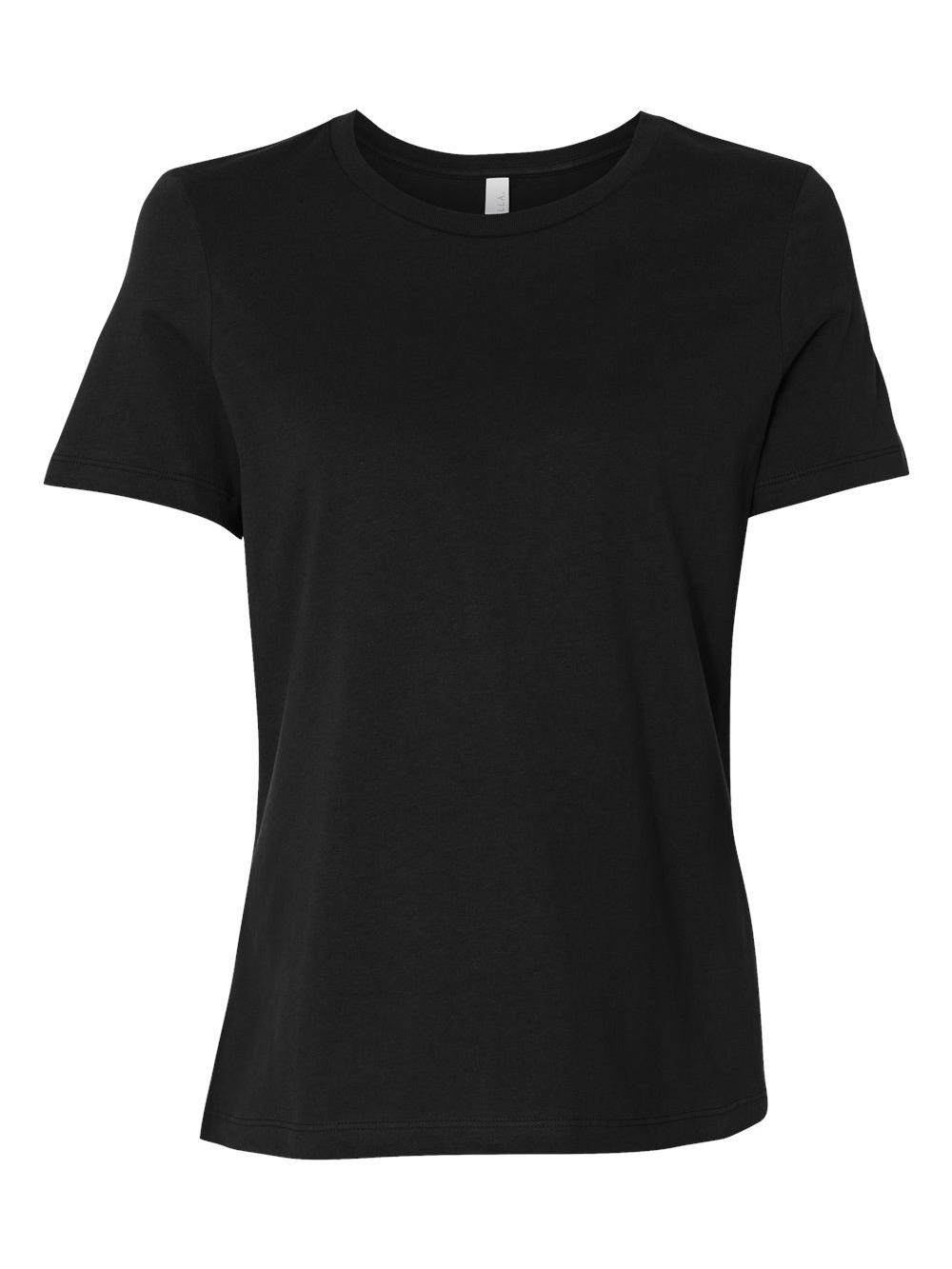 Bella-Canvas-Women-039-s-Relaxed-Short-Sleeve-Jersey-Tee-6400 thumbnail 9