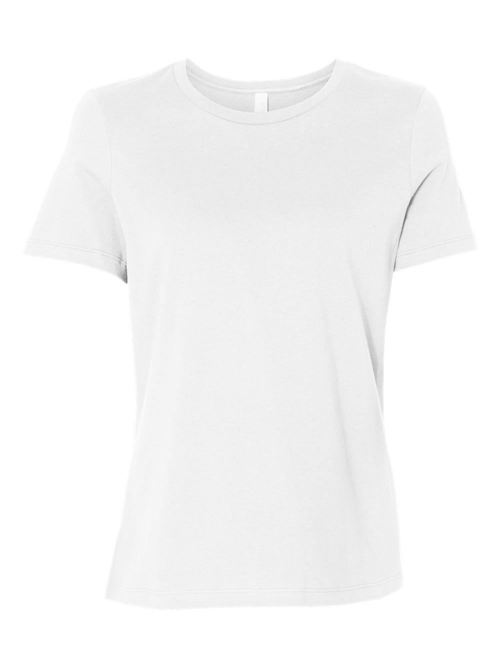 Bella-Canvas-Women-039-s-Relaxed-Short-Sleeve-Jersey-Tee-6400 thumbnail 93