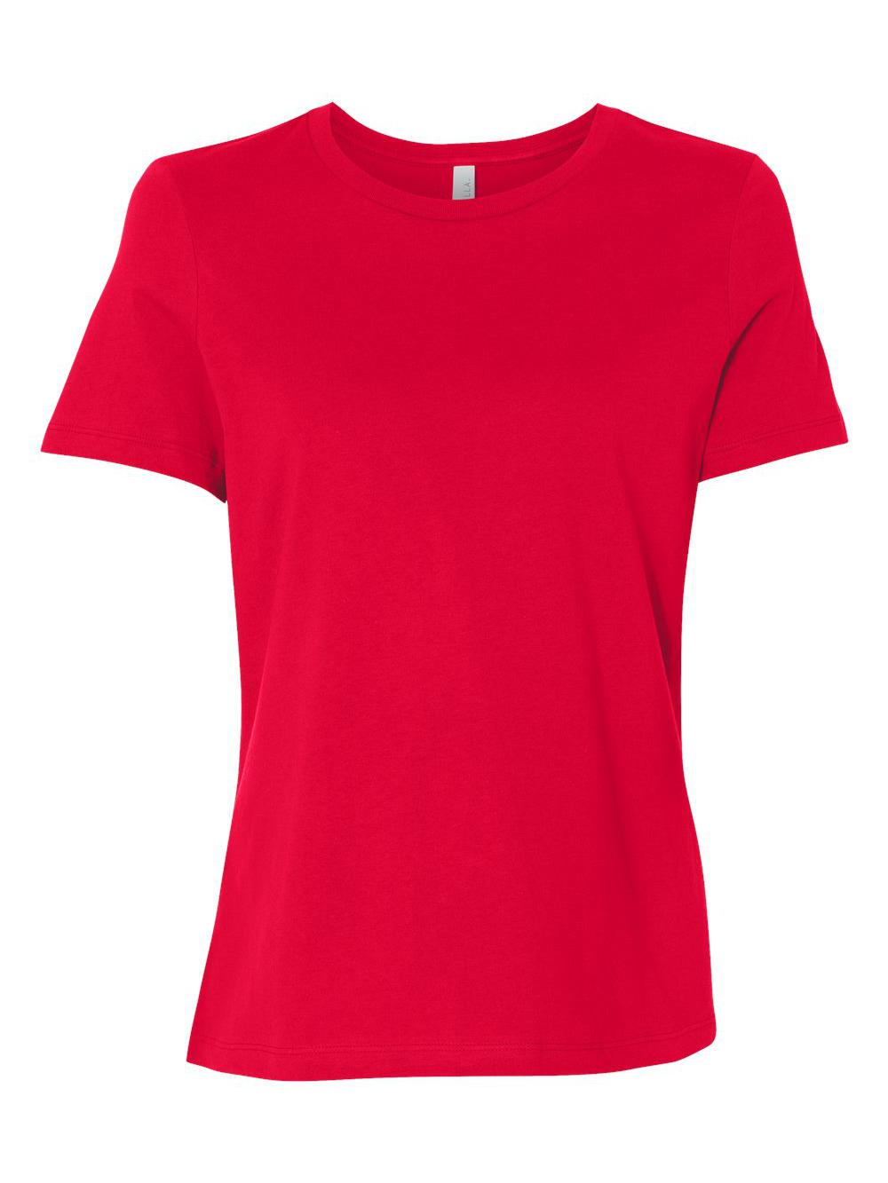 Bella-Canvas-Women-039-s-Relaxed-Short-Sleeve-Jersey-Tee-6400 thumbnail 72