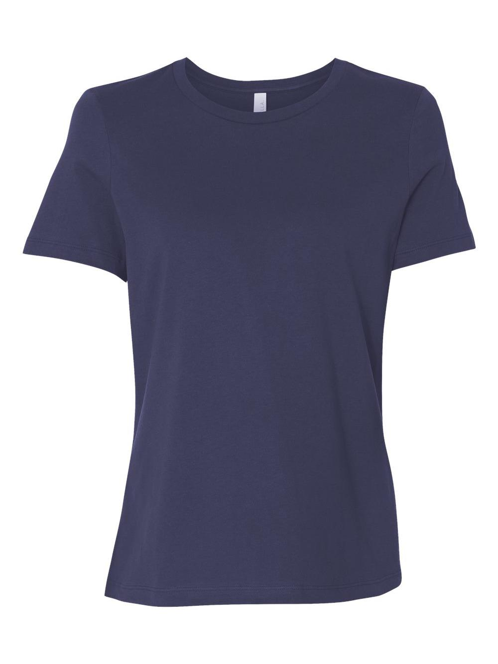 Bella-Canvas-Women-039-s-Relaxed-Short-Sleeve-Jersey-Tee-6400 thumbnail 57