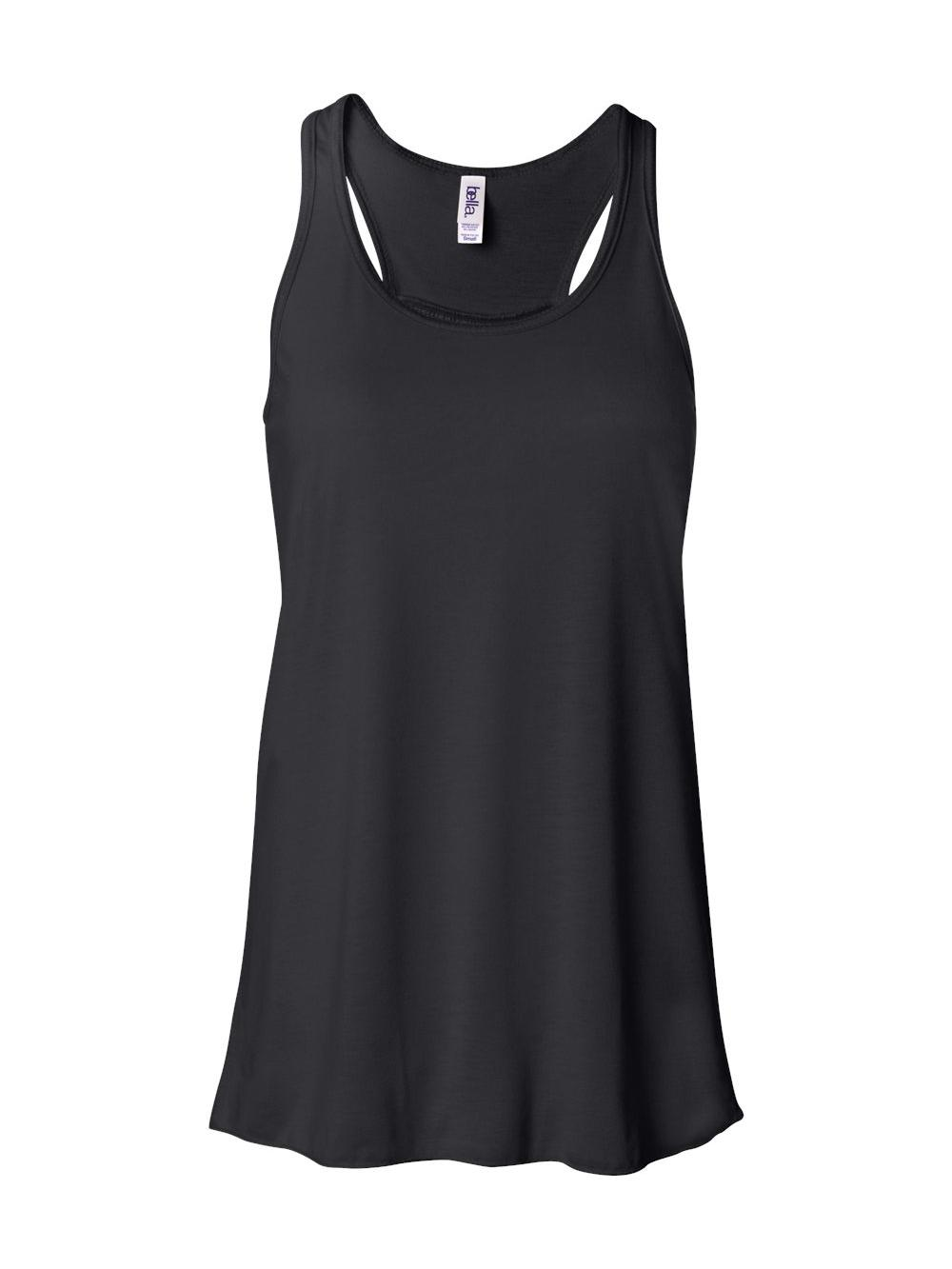 Bella-Canvas-Women-039-s-Flowy-Racerback-Tank-8800 thumbnail 9