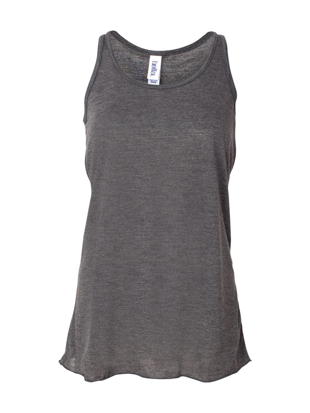 Bella-Canvas-Women-039-s-Flowy-Racerback-Tank-8800 thumbnail 33