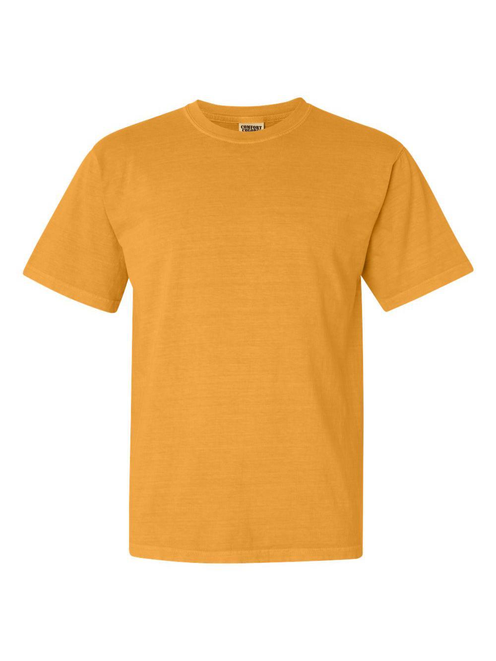 Comfort-Colors-Garment-Dyed-Heavyweight-Ringspun-Short-Sleeve-Shirt-1717 thumbnail 39
