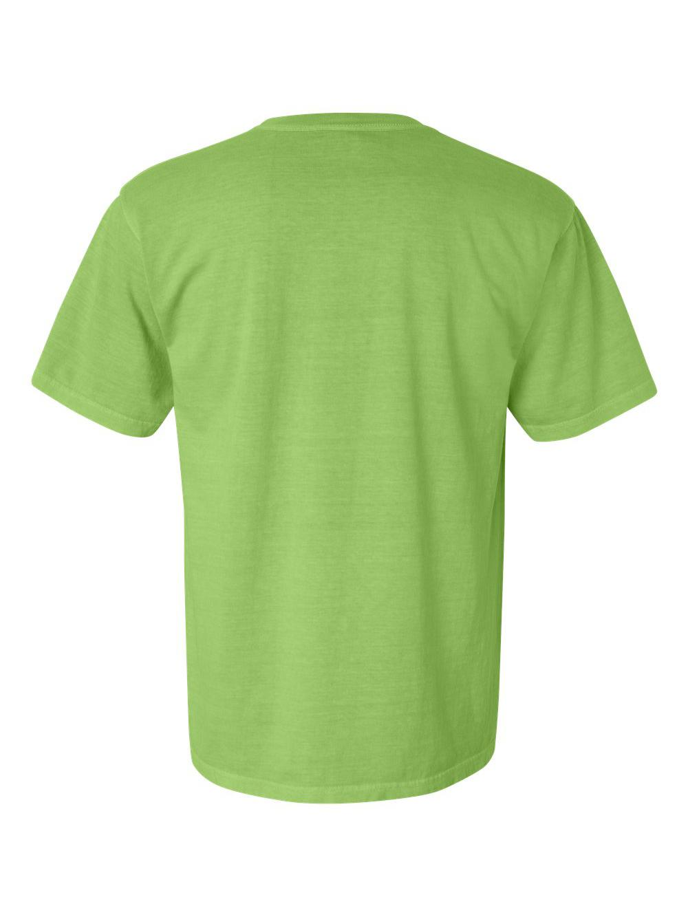 Comfort-Colors-Garment-Dyed-Heavyweight-Ringspun-Short-Sleeve-Shirt-1717 thumbnail 76