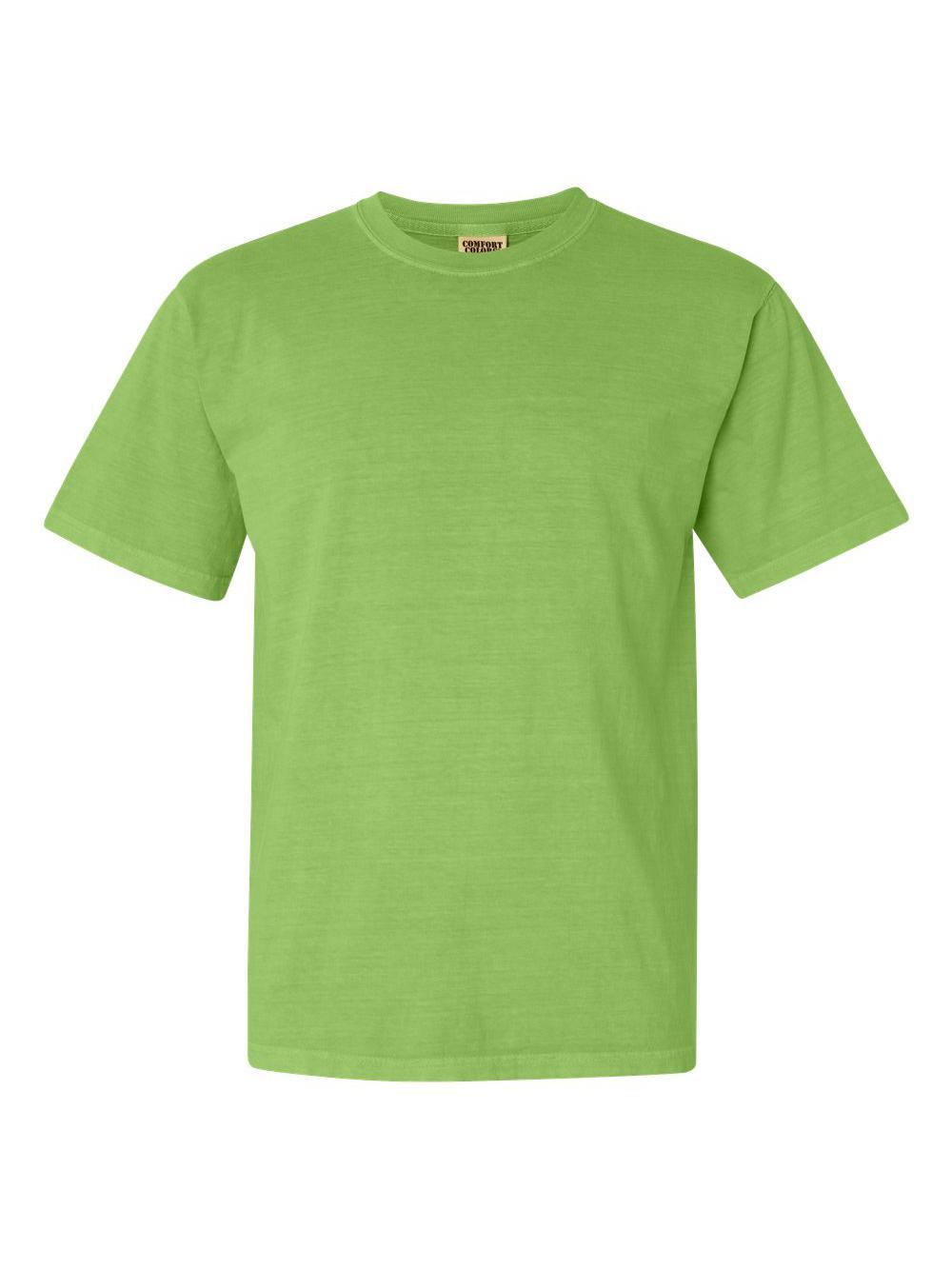 Comfort-Colors-Garment-Dyed-Heavyweight-Ringspun-Short-Sleeve-Shirt-1717 thumbnail 75