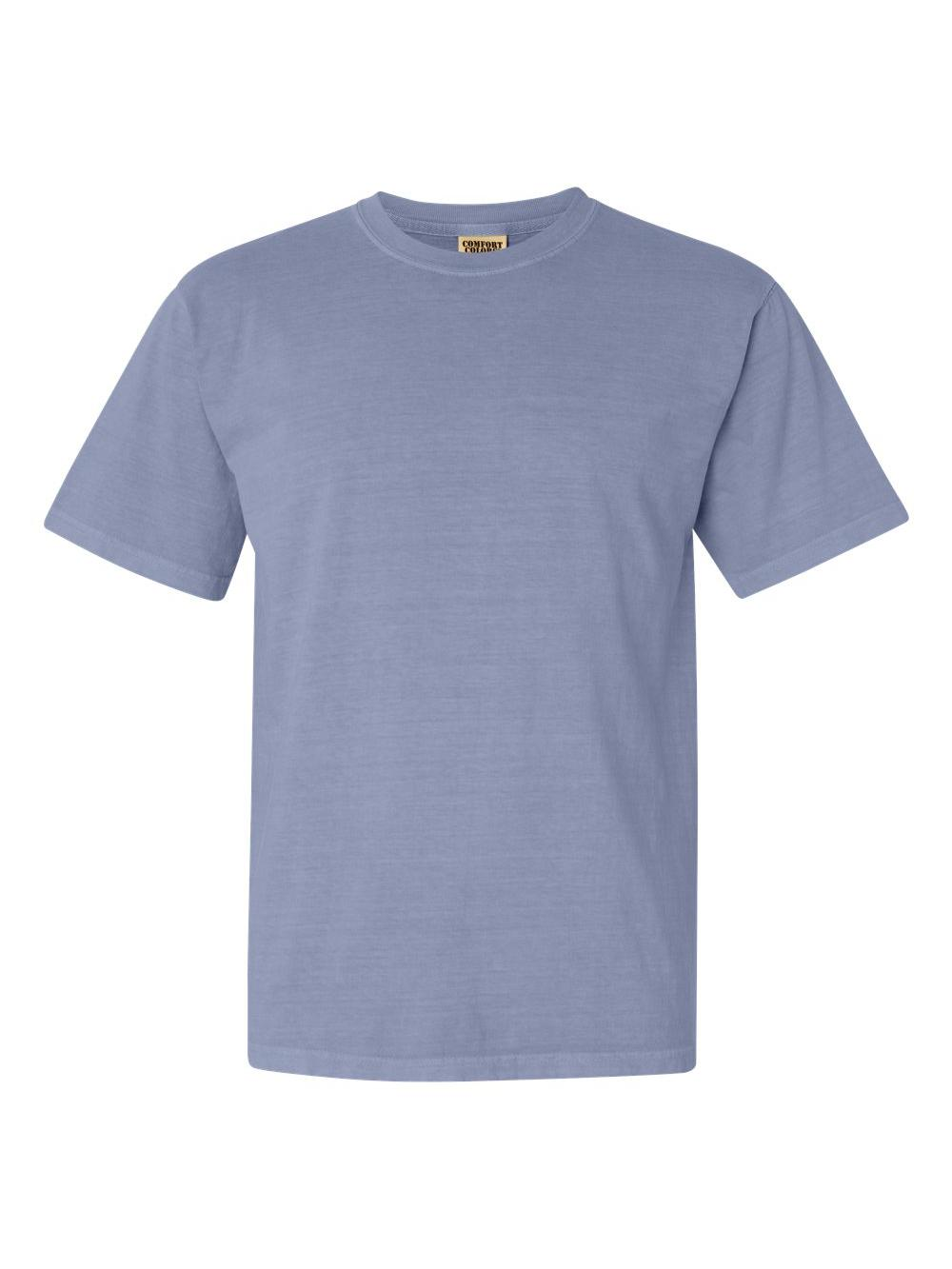 Comfort-Colors-Garment-Dyed-Heavyweight-Ringspun-Short-Sleeve-Shirt-1717 thumbnail 66