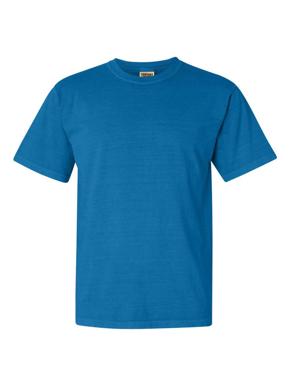 Comfort-Colors-Garment-Dyed-Heavyweight-Ringspun-Short-Sleeve-Shirt-1717 thumbnail 108