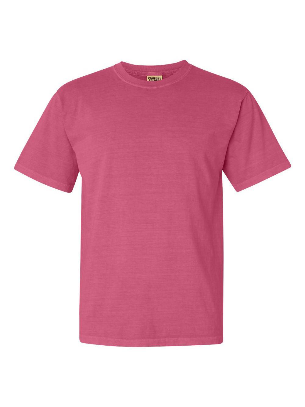 Comfort-Colors-Garment-Dyed-Heavyweight-Ringspun-Short-Sleeve-Shirt-1717 thumbnail 45