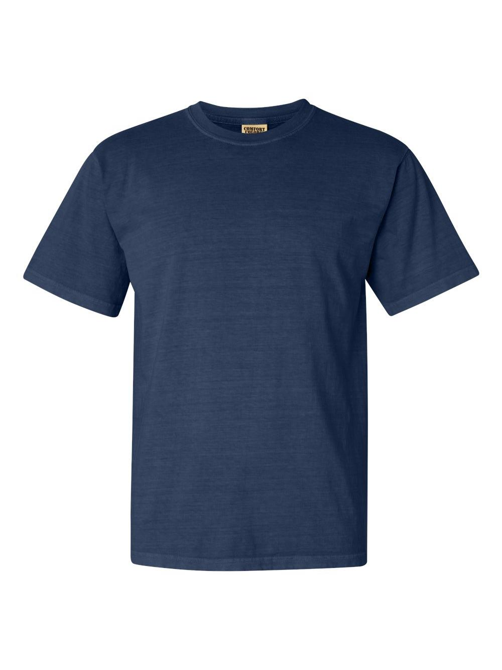 Comfort-Colors-Garment-Dyed-Heavyweight-Ringspun-Short-Sleeve-Shirt-1717 thumbnail 87