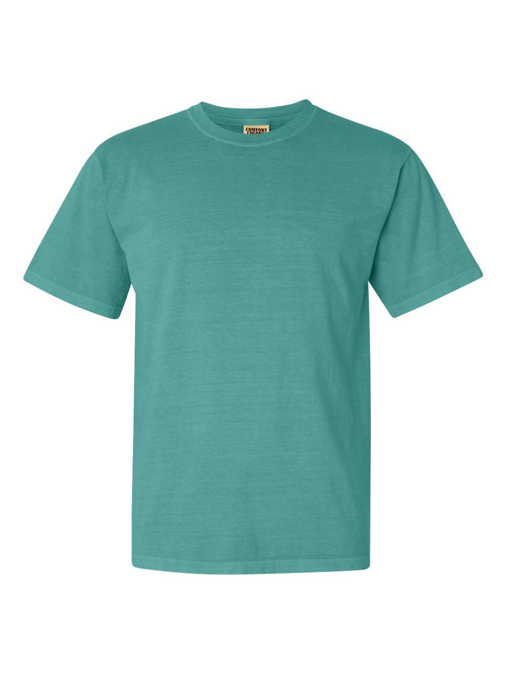 Comfort-Colors-Garment-Dyed-Heavyweight-Ringspun-Short-Sleeve-Shirt-1717 thumbnail 117