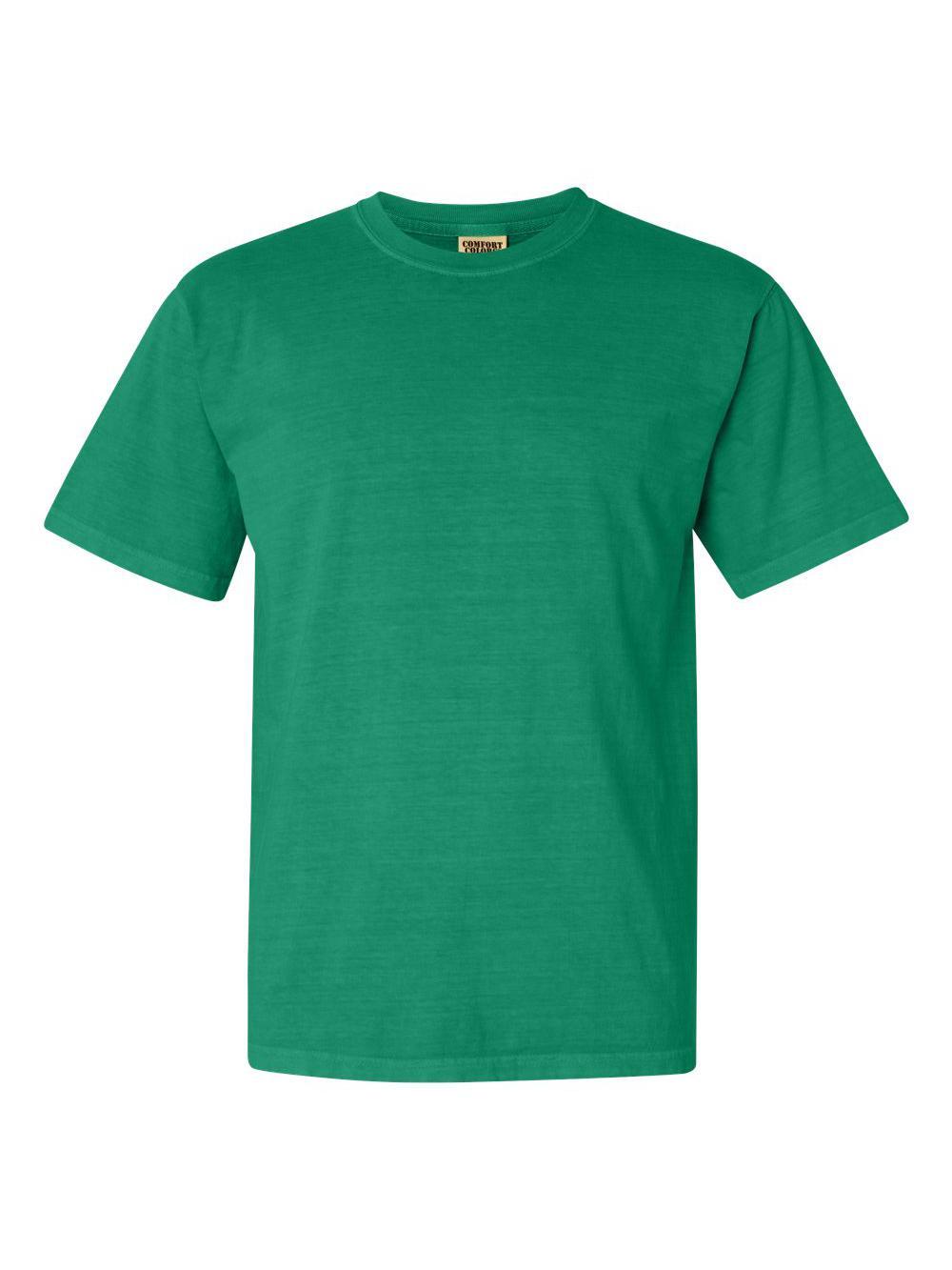 Comfort-Colors-Garment-Dyed-Heavyweight-Ringspun-Short-Sleeve-Shirt-1717 thumbnail 57